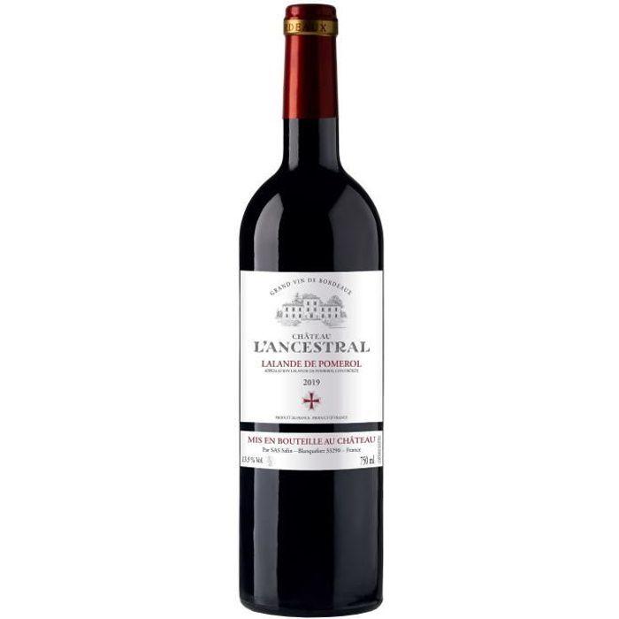 Château L'Ancestral 2019 Lalande de Pomerol - Vin rouge de Bordeaux