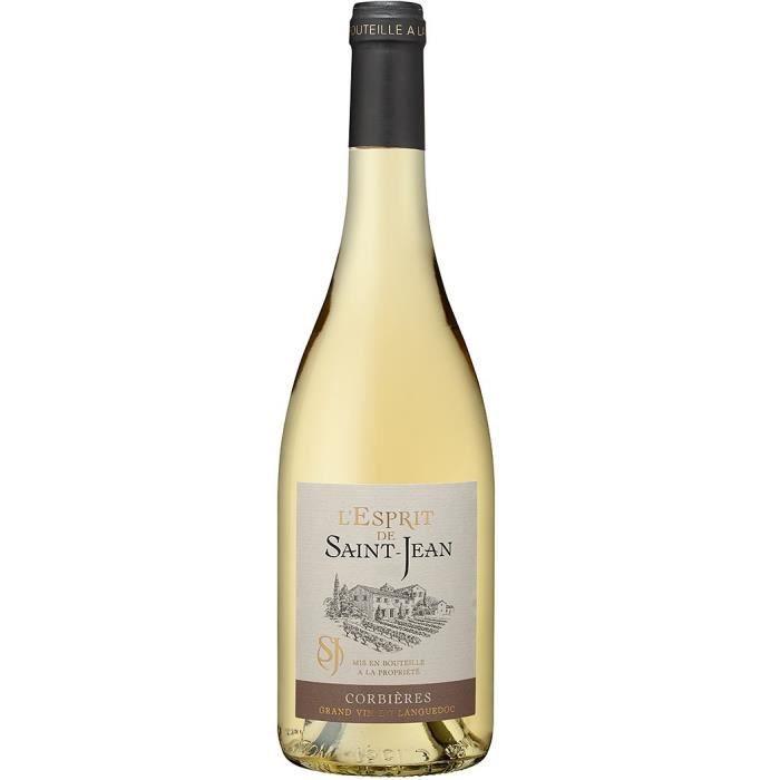 L'Esprit de Saint-Jean 2019 Corbières - Vin blanc de Languedoc