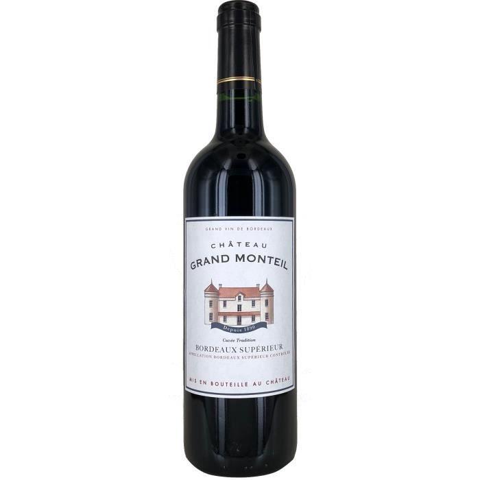 Château Grand Monteil 2019 Bordeaux Supérieur - Vin rouge de Bordeaux