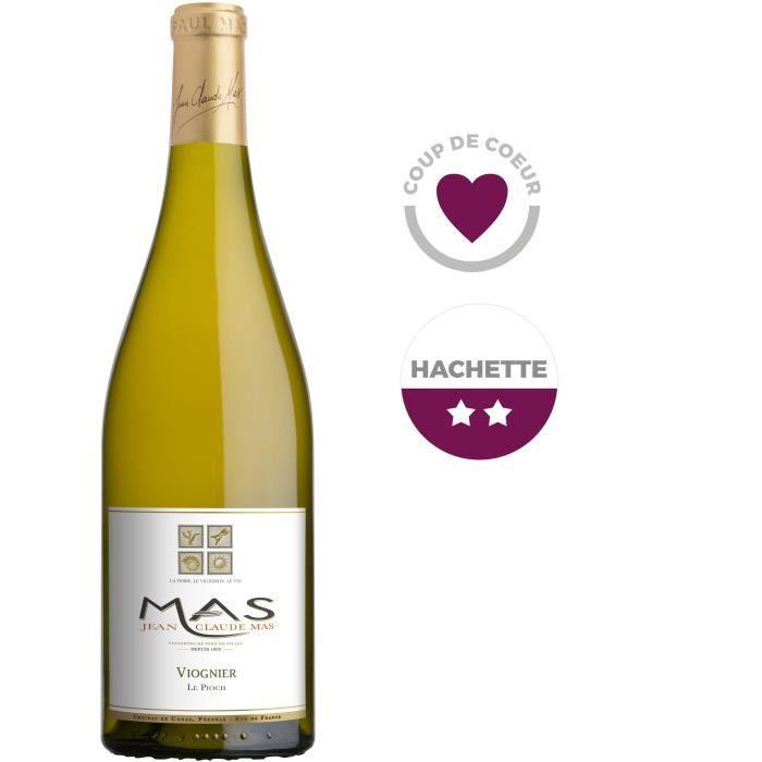 Jean Claude Mas Le Pioch Viognier 2019 Pays d'Oc - Vin blanc de Languedoc