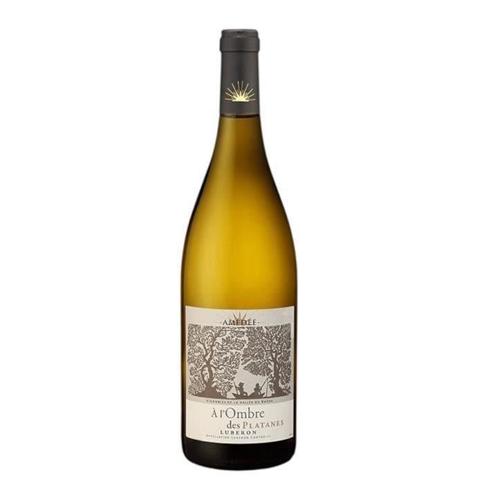 A l'Ombre des Platanes 2019 Luberon - Vin blanc de la Vallée du Rhône