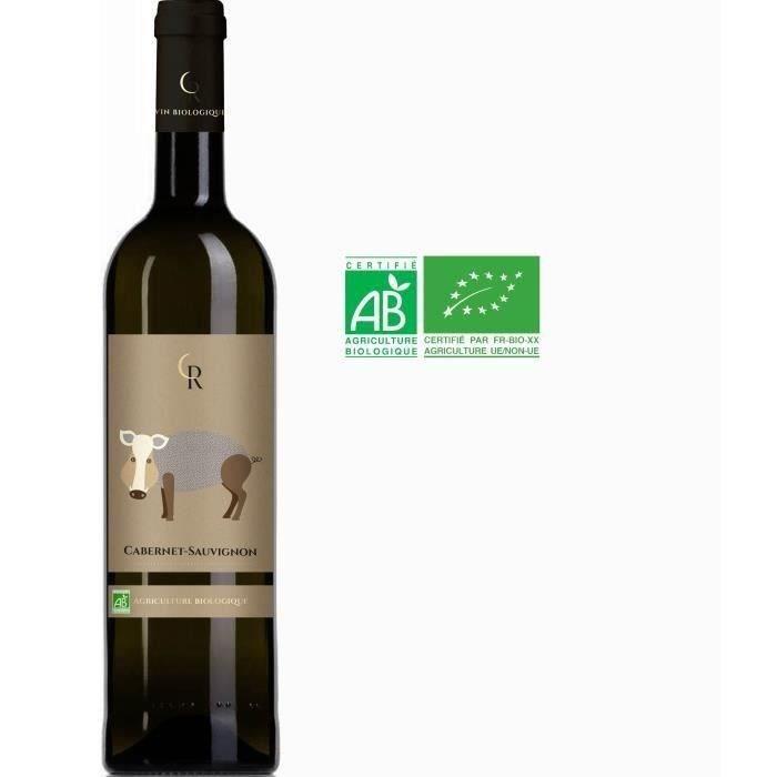 Le Sanglier Cabernet 2019 IGP Atlantique - Vin Rouge Bio
