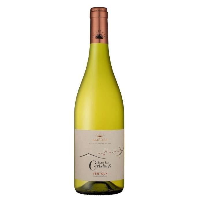 Sous les Cerisiers 2019 Ventoux - Vin blanc de la Vallée du Rhône