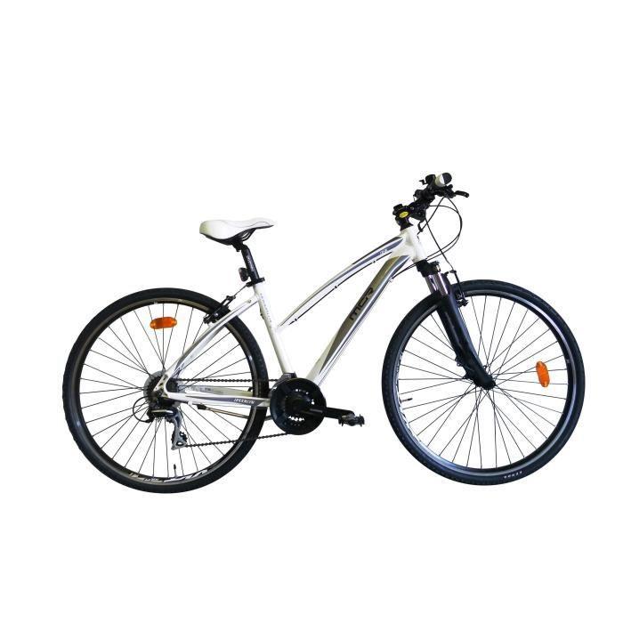 MGR Vélo VTC Broklyn - Femme - Blanc - Personnes de 180 cm
