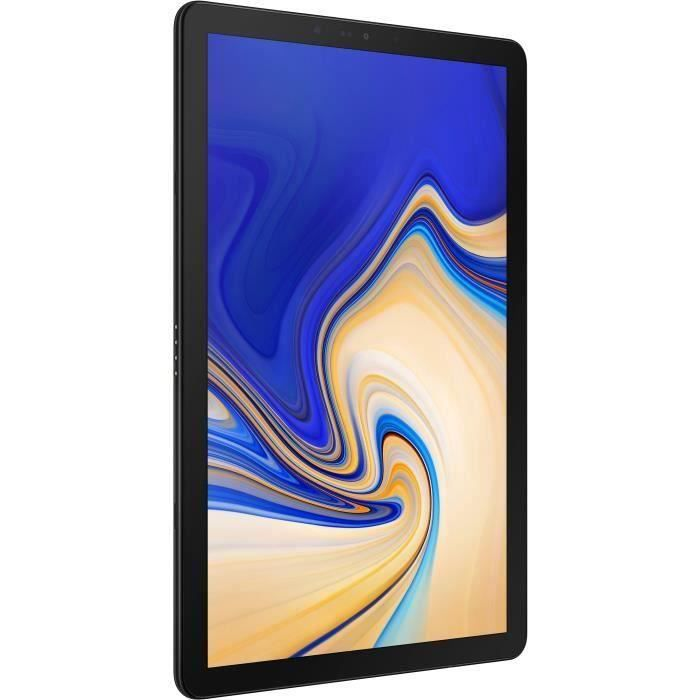 Tablette Tactile - SAMSUNG Galaxy Tab S4 - 10,5- - RAM 4Go - Android 8.1 - Stockage 64Go - 4G/WiFi - Noir