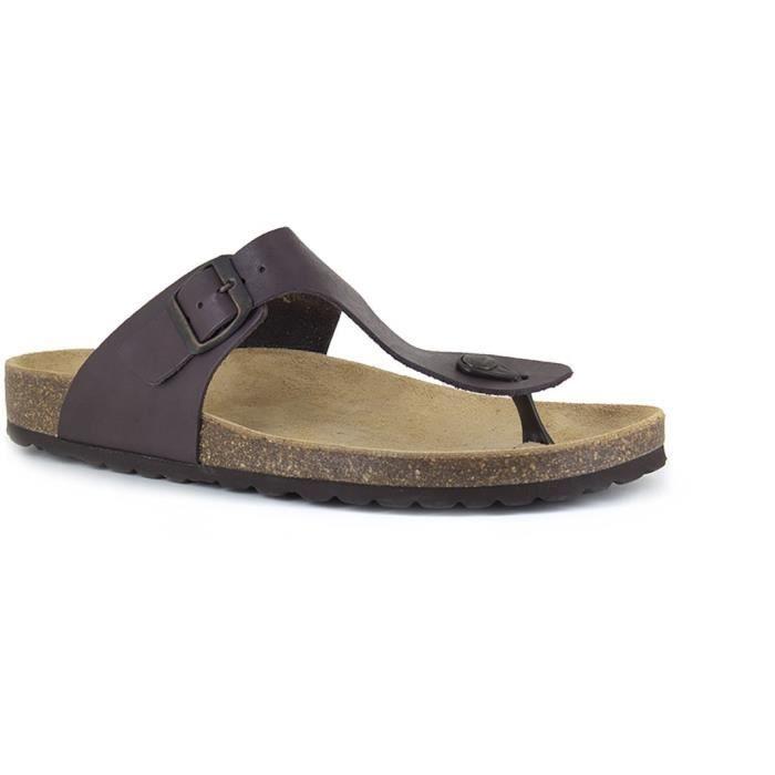 J.BRADFORD Chaussures Sandales JB-Marbella Marron Homme