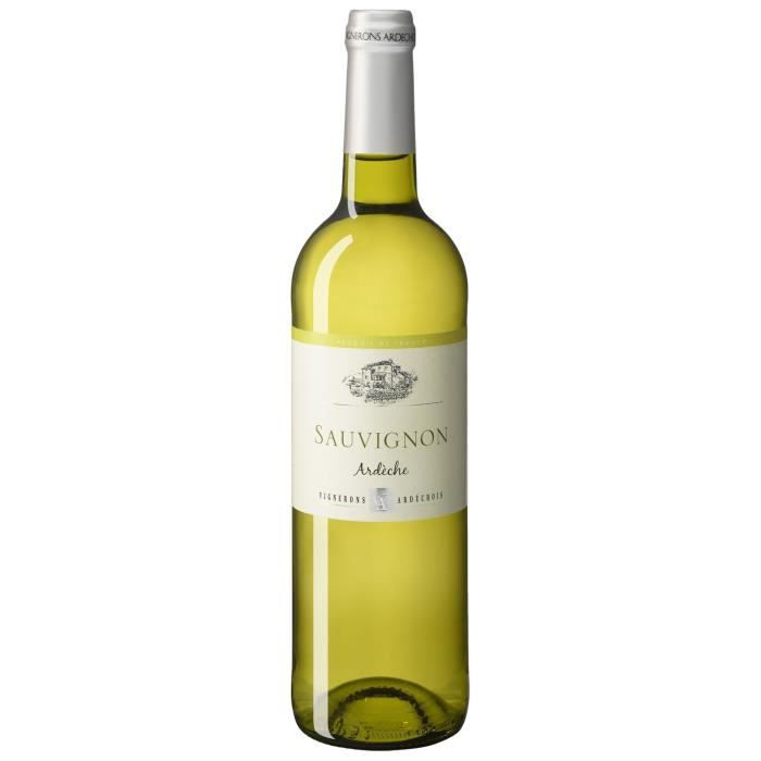 Vignerons Ardéchois 2019 Côteaux de l'Ardèche - Vin blanc de la Vallée du Rhône