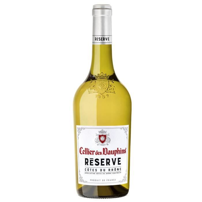 Cellier des Dauphins Réserve 2019 Côtes du Rhône - Vin blanc de la Vallée du Rhône