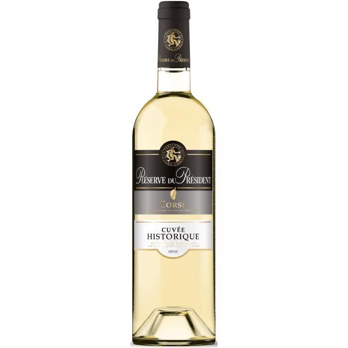Réserve du Président Corse - Vin blanc de Corse