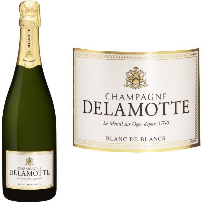 Champagne Delamotte Blanc de blancs - 75 cl