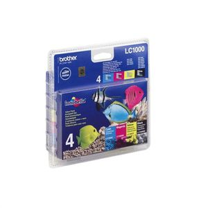 Brother LC1000 Cartouches d'encre Multipack Couleu