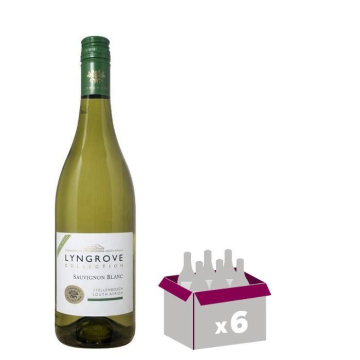 LYNGROVE Collection Sauvignon Vin d'Afrique du Sud - Blanc - 75 cl x 6