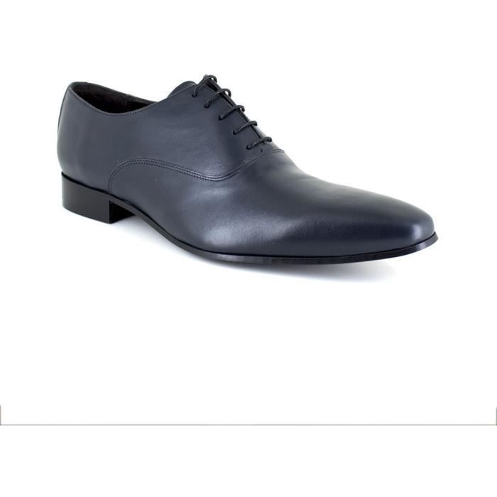 J.BRADFORD JB-BEKERLEY Richelieu Marine Chaussure Homme