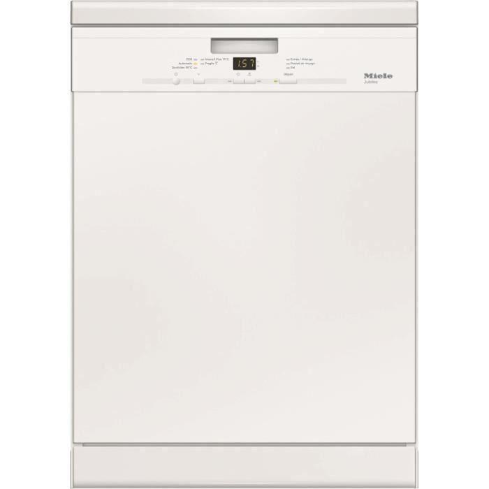 Lave-vaisselle pose libre MIELE G4942 Jubilee - 13 couverts - Largeur 60 cm - Classe A++ - 44 dB - Blanc