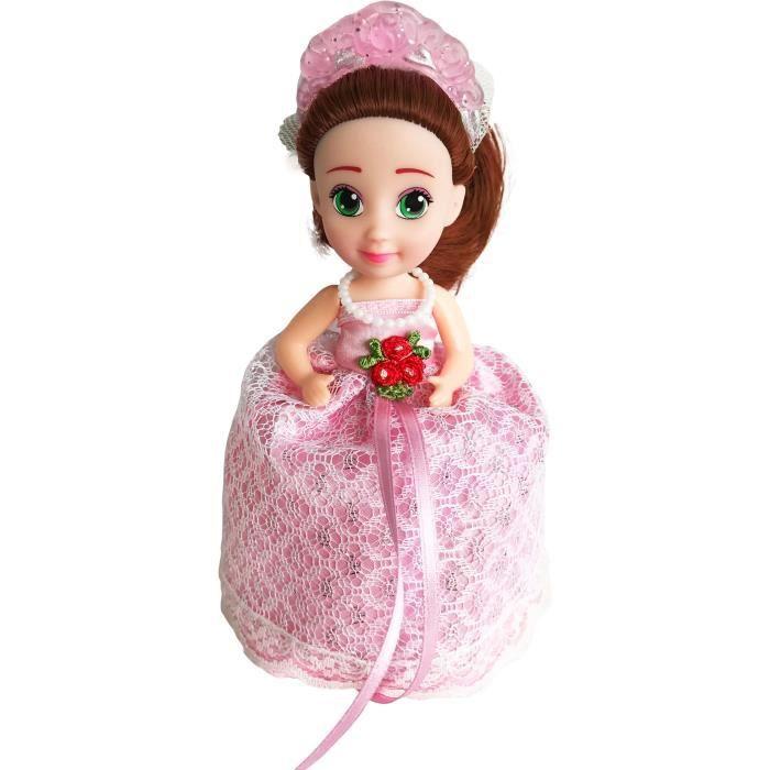Cupcake Surprise Mariage Poupée parfumée Leonie