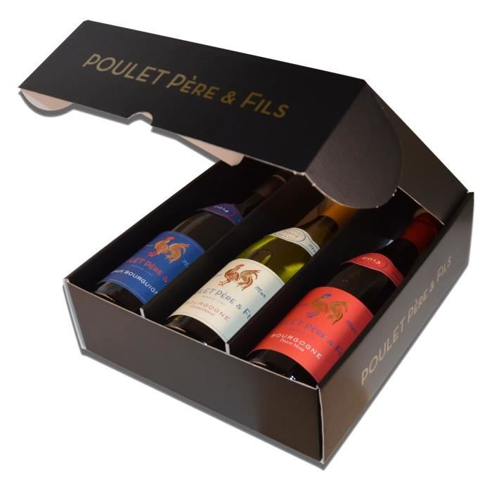 Coffret Poulet Bourgogne 3 couleurs