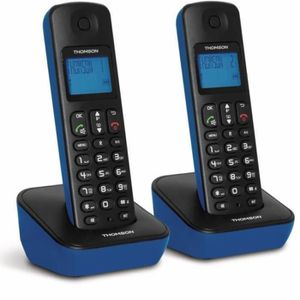 THOMSON Telephone Dect Mica Duo Bleu
