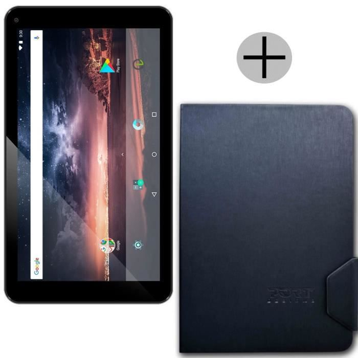 LOGICOM Tablette tactile - 7'' 1024x600 - RAM 1Go - Quad Core - Android 7.1 - Stockage 8Go + Port Etui Universel 7/8\