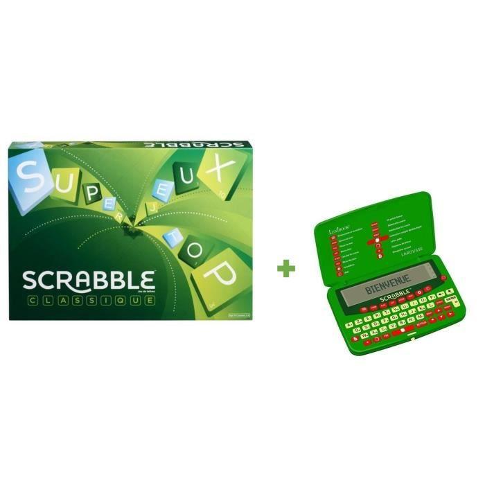 SCRABBLE Scrabble Classic + Dictionnaire électronique du Scrabble