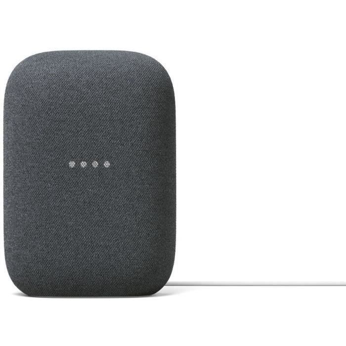 Google Nest Audio Charbon