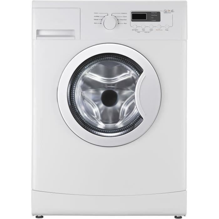 CONTINENTAL EDISON CELL712SLIM - Lave linge frontal - 7 kg - 1200 trs / min - A+++ - FAIBLE PROFONDE