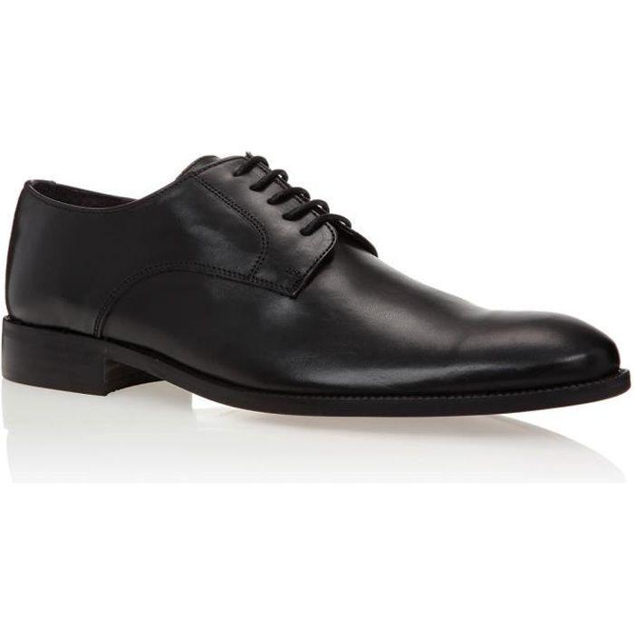 J.BRADFORD JB-LUC Noir Chaussure Homme