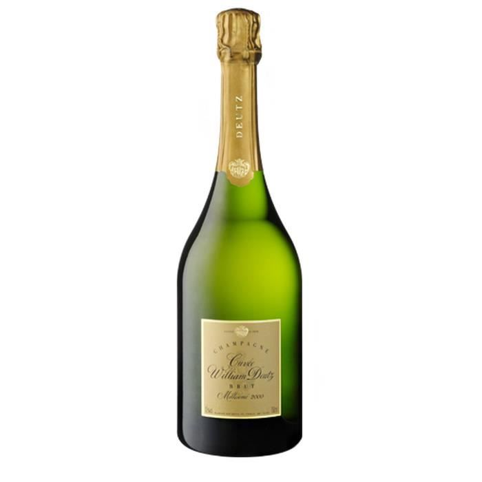 Champagne William Deutz Millésimé 2000 Brut - 75 cl