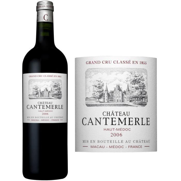 Château Cantemerle 2006 Haut Médoc - Vin rouge de Bordeaux