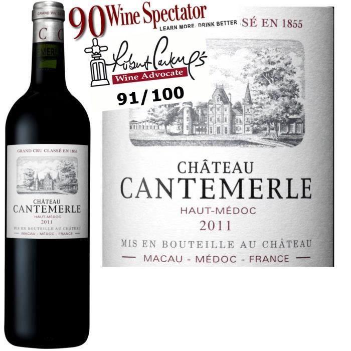 Château Cantemerle 2011 Haut Médoc - Vin rouge de Bordeaux