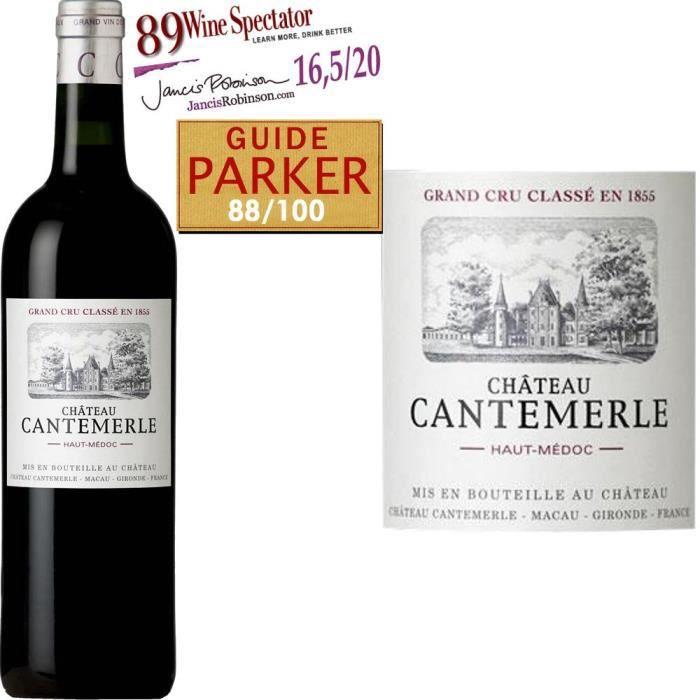 Château Cantemerle 2012 Haut Médoc -Vin rouge de Bordeaux