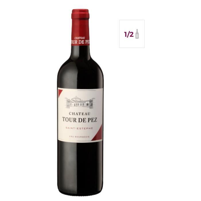 Demi-bouteille 37,5cl Château Tour de Pez 2012 Saint-Estèphe - Vin rouge de Bordeaux