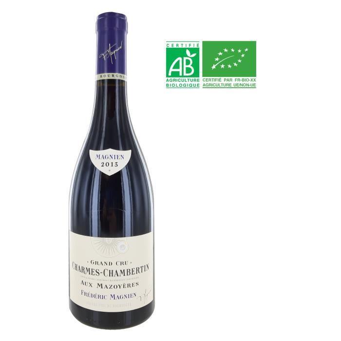 Frédéric Magnien 2013 Charmes Chambertin Grand Cru Aux Mazoyères - Vin rouge de Bourgogne - Bio