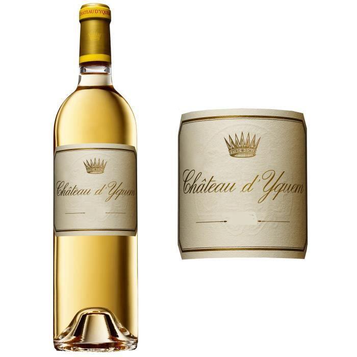 Château d'Yquem 2014 Sauternes Premier Cru Classé - Vin blanc de Bordeaux