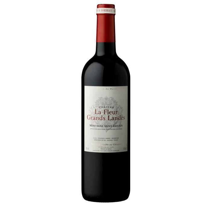 Château La Fleur Grands Landes 2015 Montagne Saint-Emilion - Vin rouge de Bordeaux