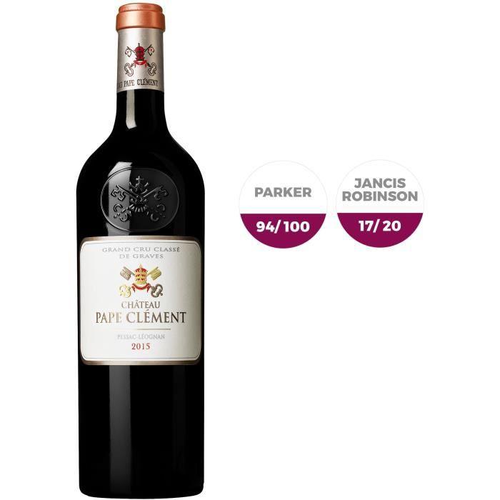 Château Pape Clément 2015 Pessac Léognan Grand Cru - Vin rouge de Bordeaux
