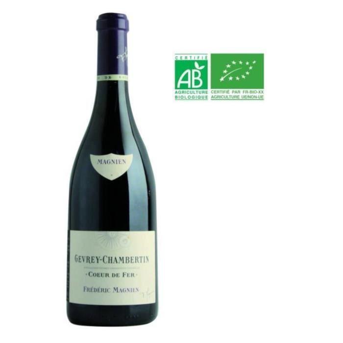 Frédéric Magnien Cœur de Fer 2016 Gevrey-Chambertin - Vin rouge de Bourgogne - Bio