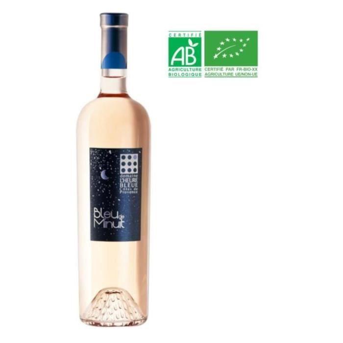 Domaine L'Heure Bleue Bleu de Nuit 2019 Côtes de Provence - Vin rosé de Provence
