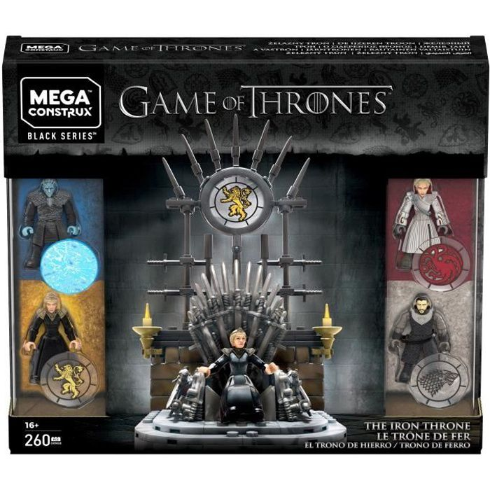 MEGA CONSTRUX Game of Thrones Le Trône de Fer - 260 pièces