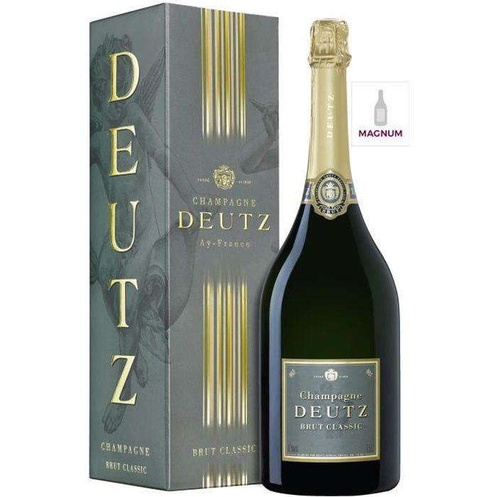 DEUTZ Magnum Champagne Classic Brut avec étui - 150 cl