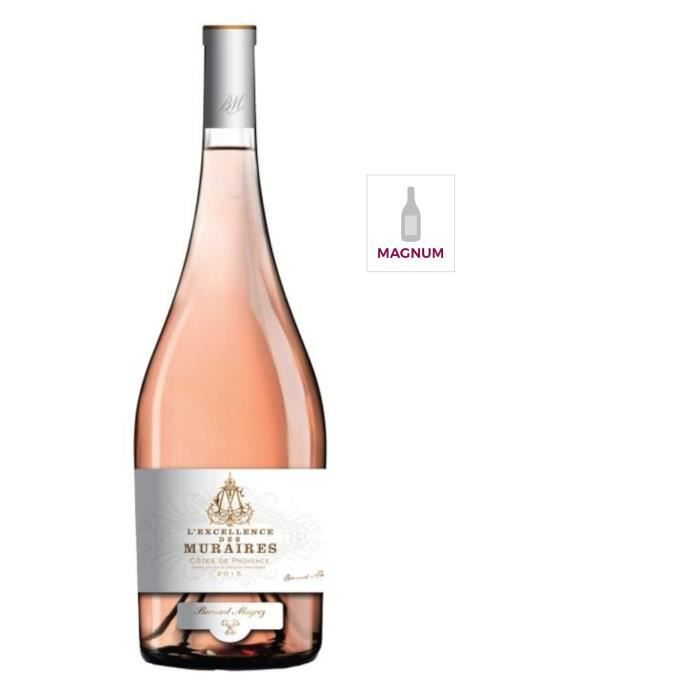 Magnum Bernard Magrez -Excellence des Muraires- 2015 Côtes de Provence - Vin rosé de Provence