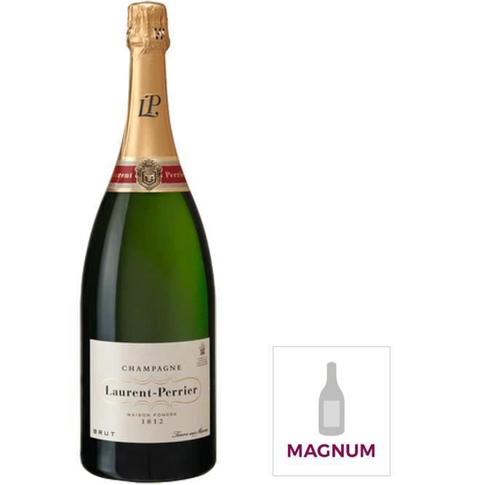 Champagne Laurent Perrier La Cuvée Brut avec étui - Magnum 1,5L