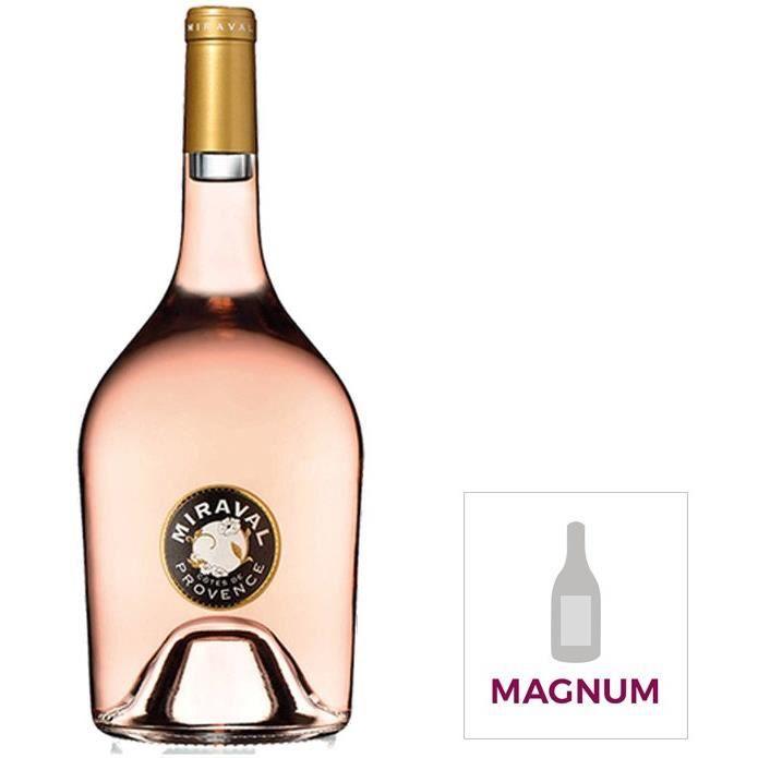 Miraval Côtes de Provence - Vin Rosé - Magnum 150 cl