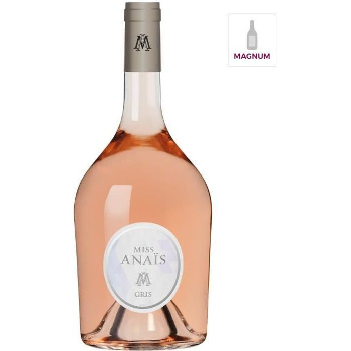 Magnum JEAN D'ALIBERT Miss Anais Gris - Vin rosé de Languedoc-Roussillon