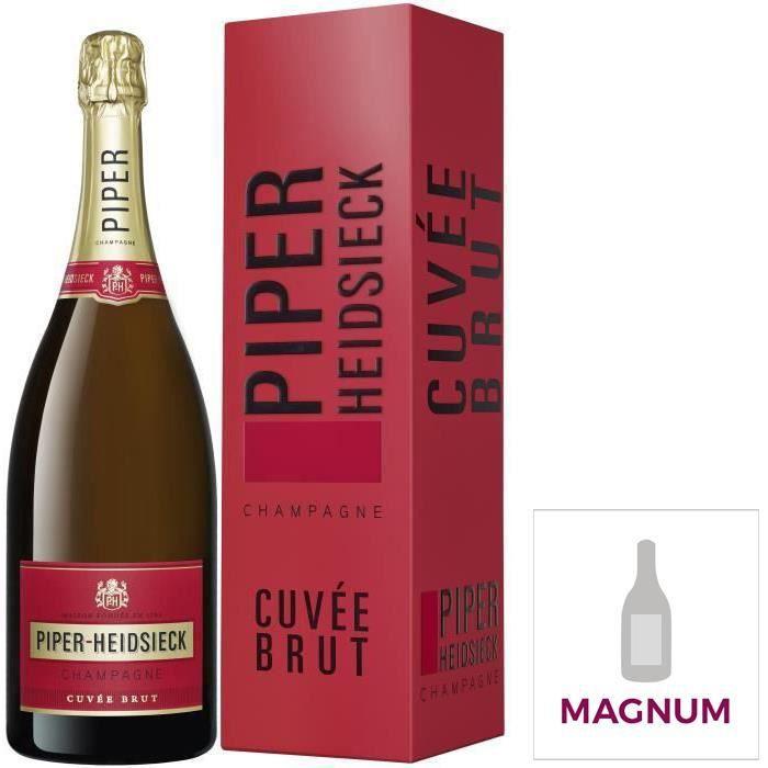 Champagne Piper Heidsieck Brut avec étui - Magnum 1,5L