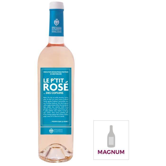 Magnum Le P'tit Rosé des Copains IGP Méditerranée - Vin rosé