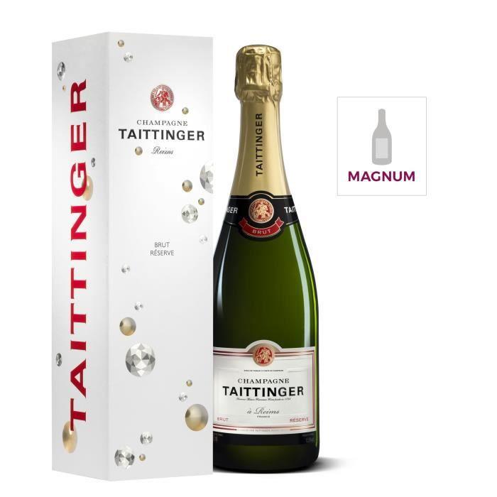 Champagne Taittinger Brut Réserve avec étui - Magnum 1,5 L