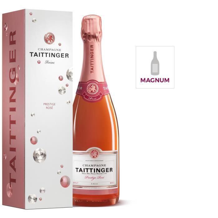 Champagne Taittinger Prestige Rosé avec étui - Magnum 1,5 L
