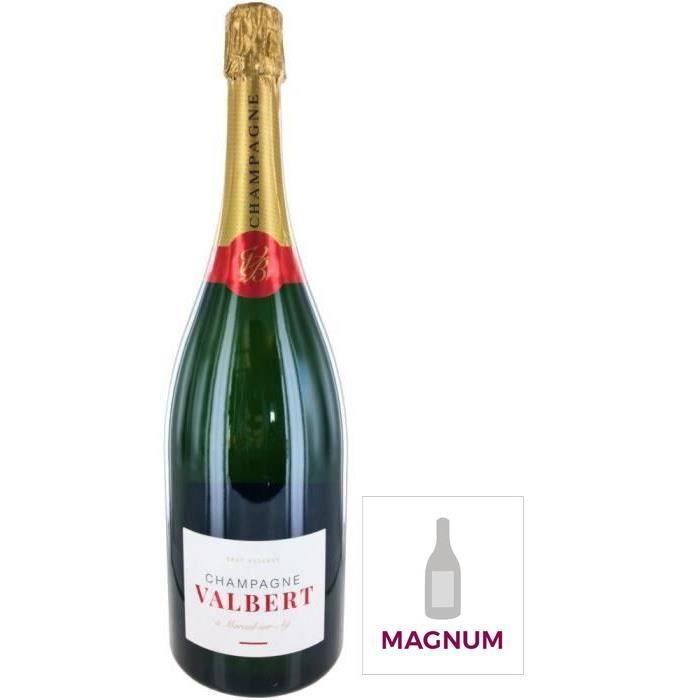 Champagne Valbert Réserve Brut - Magnum 1,5L
