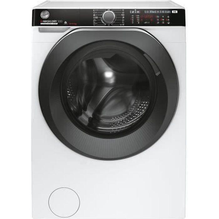 Lave-linge séchant HOOVER H-Wash&Dry 500 HDP4149AMBC/1-S - Lavage 14 kg / séchage 9 kg - Classe A - 1400 tours/min - Blanc