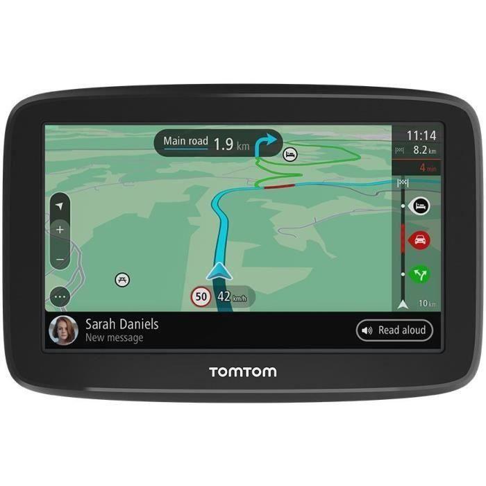 TOMTOM GPS GO Classic 5- - Mises à jour via Wi-Fi, Carte Europe 49 pays, TomTom Traffic, Alertes de zones de danger 1 mois inclus